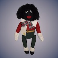 Vintage D-Gee Golly Doll Designed By Dee Hockenberry Gabrielle Designs Golliwog