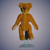 Artist Teddy Bear Miniature Dollhouse For Doll Signed Lc