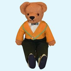 Vintage Teddy Bear Original Clothes WHO?? Sweet