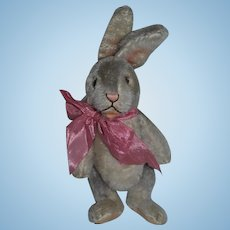 Wonderful Vintage Mohair Rabbit Jointed Adorable