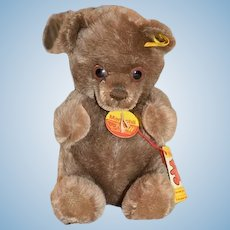 Wonderful Teddy Bear Manschli Steiff Button Chest Tag & String Tag