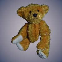 Vintage Teddy Bear Miniature Artist Bear Little Gems Teddy Bears Signed Dollhouse