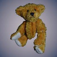 Vintage Teddy Bear Miniature Artist Bear Little Gems Teddy Bears Signed Dollhouse