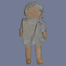 Old Sweet Cloth Doll Rag Doll Unusual