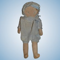 Old Sweet Cloth Doll Rag Doll Unusual