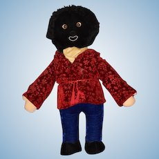 Vintage Limited Edition TALL Merrythought English Golly Golliwog W/ Tags