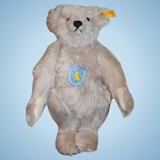 Sweet Steiff Teddy Bear W/ Tags and Button in Ear 0167/32 Jointed Adorable