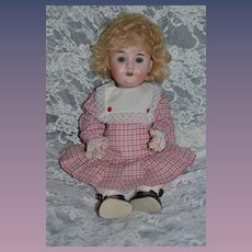 Antique Doll Bisque Head Body Toddler Character