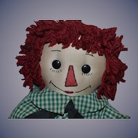 Raggedy Andy Doll Cloth Doll Rag Doll Unusual Sweet