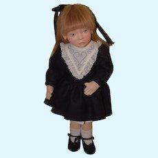 "Wonderful Artist Doll Maggie Iacono 1994 MAGGIE MADE ""Miranda"" Only 75 Made"
