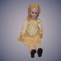 "Antique Bisque French Doll TETE Jumeau DEP 30"" Tall"