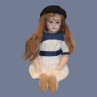 """Antique Doll Kammer Reinhardt Bisque Doll 25 1/2"""" Tall Different Mark"""
