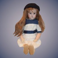 "Antique Doll Kammer Reinhardt Bisque Doll 25 1/2"" Tall Different Mark"