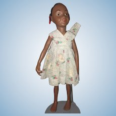 Artist Doll Ky Kricket By J. Condon Black Bisque Doll Jointed Sweet