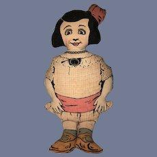 Wonderful Cloth Doll Miss PHOEBE PRIMM Faultless Starch Dolls