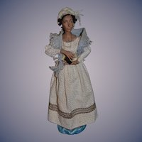 Artist Doll Elizabeth Jenkins ODACA Black Doll Sculpture Wonderful