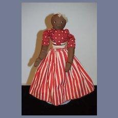 Wonderful Cloth Doll Topsy Turvy Black Doll White Doll