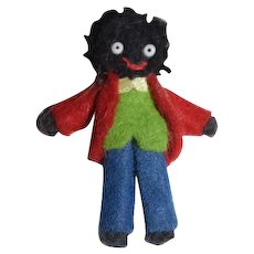 Artist Miniature Black Doll Golliwog Dollhouse