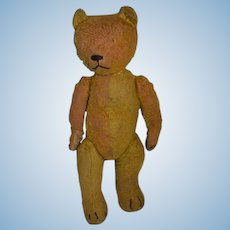 Antique Teddy Bear Worlds Most Lovable Mohair Two Tone Jointed Bear