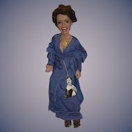 Wonderful Doll Very Rare Lena Horne By Ron Kron Gorgeous Sculpture Character Portrait Doll Singer Actress