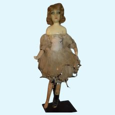 Old Wax Doll Character Unusual