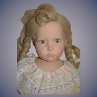 Vintage Artist Doll HIlDEGARD GUNZEL Tricia Numbered W/ Tag