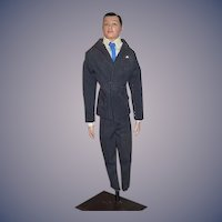 """Vintage Rudolph Valentino Actor Doll In """"If I Loved You"""" suit"""