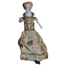 Antique Miniature Doll China Head Parian Dollhouse