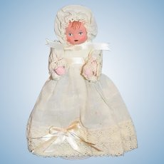 Vintage Doll Artist Doll Bitsy Mask Face Cloth Body