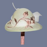 Judith Phelp's Doll Artist Doll Hat Fancy W/ Case