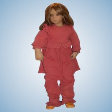 Artist Doll Annette Himstedt Catalina Sweet W/ Wrist Tag Original Clothing