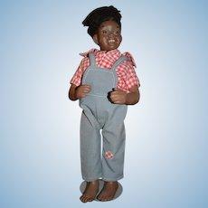 Vintage Artist Doll Black Character Porcelain Maggie Hand