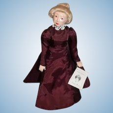 Artist Doll OOAK LAUREN WELKER Lady Rose Wax Over Porcelain Duchess of Dollology