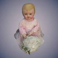Old Martha Chase Doll Sweet Nicely Dressed Sweet Face