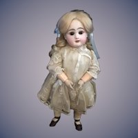 Antique Doll French Rabery Delphieu R D Bisque Gorgeous Closed Mouth