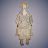 Antique Doll German Parian  China Head Head Band
