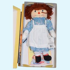 Wonderful Boxed SET Raggedy Ann Raggedy Andy and the Wrinkled Knee Camel In Original Box 3 Dolls! See ALL PICS