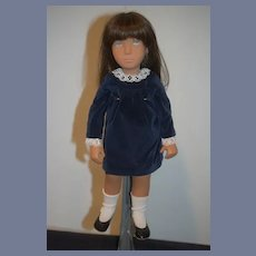 Vintage Doll Sasha 1981 Limited Edition Silver Wrist Tag Great Condition
