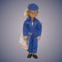 Gotz Sasha Doll Sofie Workman 94 306 W/ Wrist Tag Germany W/ Tools