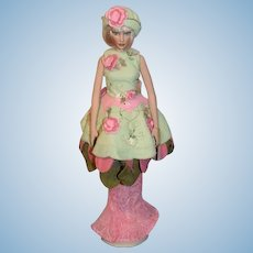 Facets of Seasons Helen Kish Doll Gorgeous Fashion Doll W/ Tag and Stand