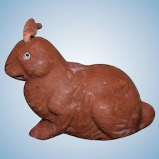 Old Papier Mache Bunny Rabbit Sweet Doll Toy