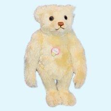 Vintage Doll Teddy Bear Jointed Musik Bar Mohair