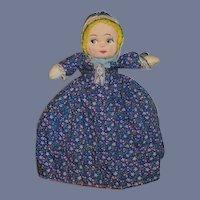 Vintage Doll Topsy Turvy Black Doll White Doll Mask Face Sweet
