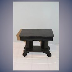 Old Doll Wood Doll Table For Larger Dolls