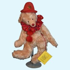 "Wonderful Teddy Bear Artist Bear The Bear Basket #8 of 35 ""Clarence""  By Sharon Dressman"