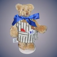 "Vintage MerryThought Teddy Bear U.F.D.C. ""Our Bear""  Jointed Do it yourself Workshop:"