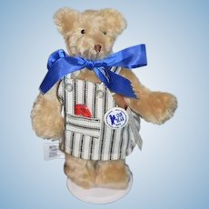 """Vintage MerryThought Teddy Bear U.F.D.C. """"Our Bear""""  Jointed Do it yourself Workshop:"""