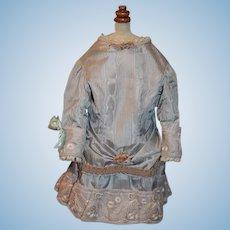 Gorgeous Artist Doll Dress For French Doll Shirley Darmohray Drop Waist