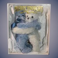 Wonderful Boxed Set MerryThought Love in a Mist Two Bears Hugging W/ Papers and Box