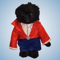 Artist Teddy Bear Golly Bear Golliwog Bear Dressed W/ Tag Bear's Lair Bette Stoll Adorable